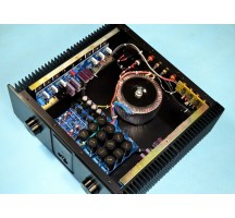 YS-audio best hifi integrated amplifier KSA 100 circuit, class AB 265W+265W Class A40W+40W warm sound