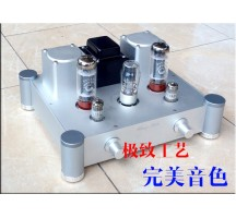 Weiliang A20 EL34 Tube Amplifier HIFI EXQUIS Single-ended Classe A Lamp Amp Breeze Audio WBAA20