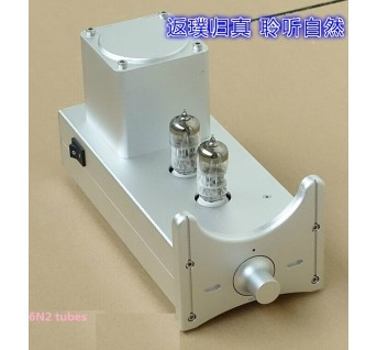 BREEZE AUDIO High-quality pre-6N2 tube preamp FS-N2A tube HIFI EXQUIS preamplifier audio power amplifier