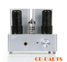 APPJ PA1502A pure Tube Headphone Amplifier HIFI EXQUIS 6n4( 12ax7 ) 6P6P( 6v6 ) lamp headset amps