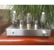 Old buffalo 807 tube amplifier HIFI EXQUIS FU7 Class A full hand-made lamp amp silver standard version