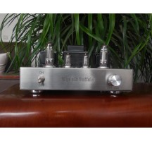 Old Buffalo 6C19 Tube amplifier handmade silver wire scoffolding HIFI EXQUIS sound like 300B