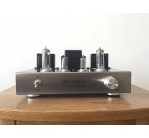 Old Buffalo 6P1 tube amplifier HIFI EXQUIS Perfect sound quality scaffolding Teflon silver wire