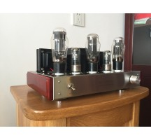Old buffalo 6N5P parallel connection signal-ended tube amplifier with headphone function three versions