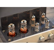 MUZISHARE X3T El84 tube amplifier HIFI EXQUIS Class A singal-ended double rectifier lamp amp MZSX3T