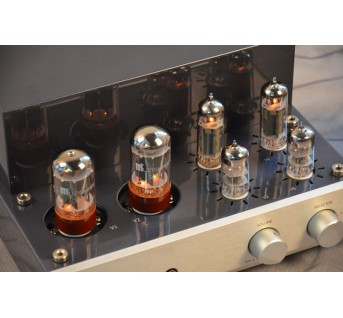 MUZISHARE X3T double rectifier tube anplifier HIFI EXQUIS Class A pure singal-ended tube amp El84