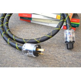 MUZISHARE speciale customized Multi-strand style OFHC Side-core copper power cable