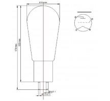 PSVANE HIFI serie 300B-N eggplant Vacuum Tube HIFI EXQUIS 300B electron lamp