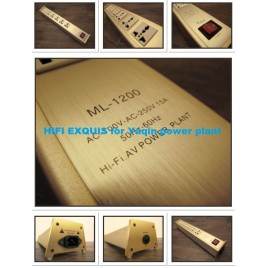 YAQIN ML-1200 HIFI Power Outlet HIFI EXQUIS power filter Conditioner Block with 6 ways US or EU/US standard sockets