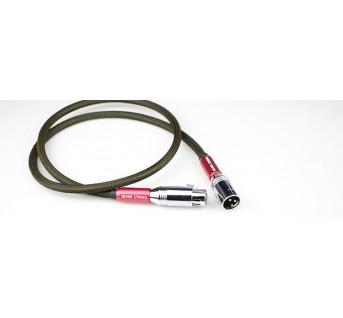Aucharm red copper silver-plated audio signal cable XLR hifi exquis hifi XLR condenser microphone cable AES