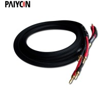 Paiyon P8581 hifi speaker wire cable banana plug wire hi-fi