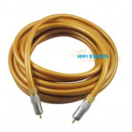 Choseal QE-161 digital coaxial and bass LF transmission cable HIFI EXQUIS RCA digital audio cable