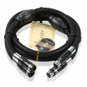 Choseal BB-5605 top class quality 6N OCC audiophile 24K hifi exquis gold-plated male and female XLR cable 1m (pair)