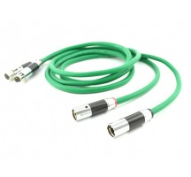 HIFI EXQUIS XLR Cable Male to Female M/F 4 core silver-plated 3pin jack Audio Signal Cable 1M 2M