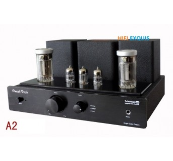 XiangSheng Sweet Peach SP-FU50 Tube Amplifier HIFI EXQUIS FU50 2x13W Signal-ended with MM Phono Headphone output USB Decoder amp