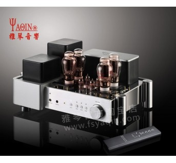 YAQIN MS-2A3 Tube HEADPHONE and INTEGRATED AMPLIFIER HIFI EXQUIS Class A amps with Full Function Aluminum Remote Control