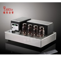 Well-know YaQin MS-110B tube amplifier switch Pure power amp or integrated amp HIFI EXQUIS KT88 push-pull ms110bamps