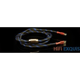 Aucharm hifi red copper silver-plated USB cable HIFI EXQUIS for speaker/dac cable USB 2.0
