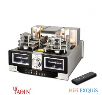YAQIN MS-650L Best 845 Tube Amplifier HIFI EXQUIS 3 Modes Signle-Ended 2A3 845 Lamp Amp with Remote