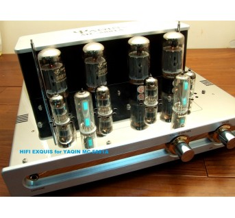 YAQIN MC-5881A Headphone & Integrated Tube Amplifier HIFI EXQUIS tube 5881a push-pull amp mc5881a