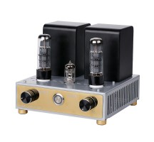 APPJ EL34 12AX7Tube Amplifier HIFI EXQUIS Class A Single-ended Mini Tesktop AMP