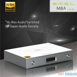 SMSL M8A Decoer + SAP-12 Headphone Amplifier Set