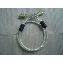 XIANGSHENG American silver plated double ring fever HIFI EXQUIS audio analogic signal RCA cable wire