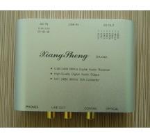 XiangSheng 24bit 96KHz mini USB DAC HIFI EXQUIS TE7022 decoder Coaxial RCA headphone amplifier