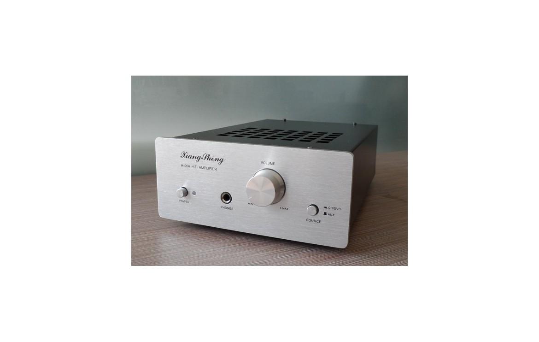 Xiangsheng H 06a Lm1876t 6j1 Tube Hybrid Amplifier Circuit Diagram And Description Of Hifi Amplifierhifi Exquis Pre Transistor Mix